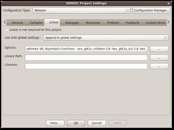 How to install and configuring wxWidgets on Ubuntu and Windows