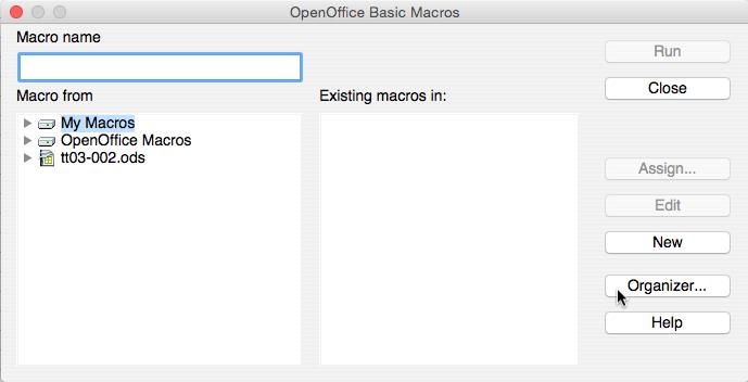Linear Interpolation Function Installation Instructions OpenOffice